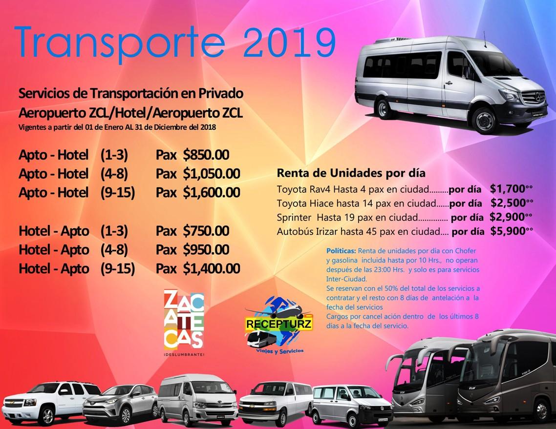 Transportacion 2019